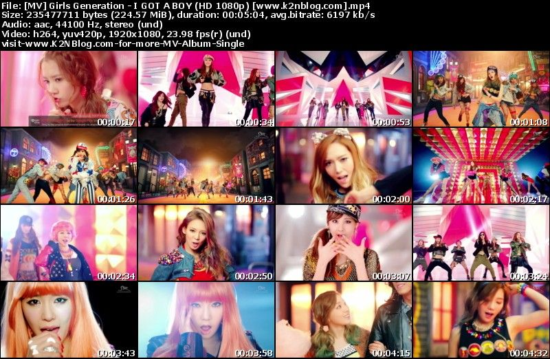 [MV] Girls Generation - I GOT A BOY (HD 1080p Youtube)
