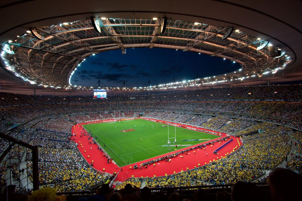 Ris orangis new national rugby stadium 82 000 page 2 skyscrapercity - Superficie stade de france ...