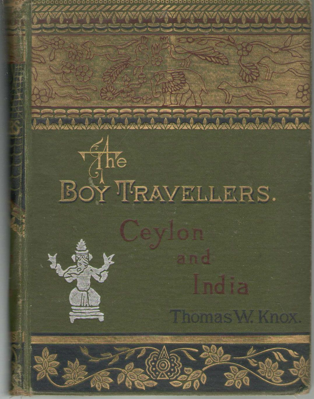 Boy Travellers, The: Ceylon and India
