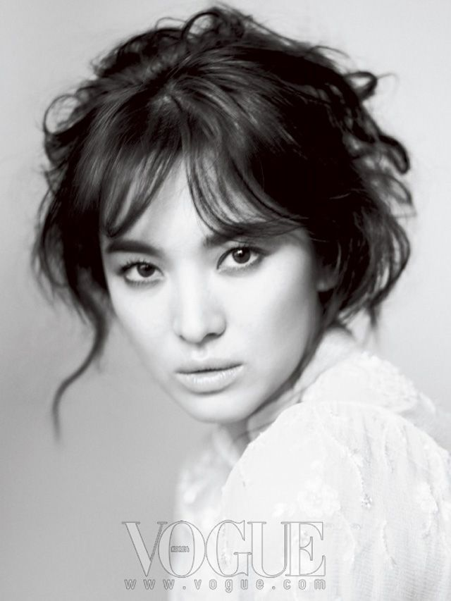 Song Hye Kyo Adds Beauty To Paris For Vogue Pictorial