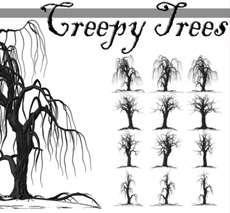 Creepy Tree Brushes