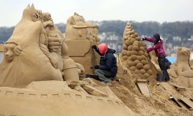 sculptorsplacefinishing - Increíbles esculturas de arena en el Reino Unido