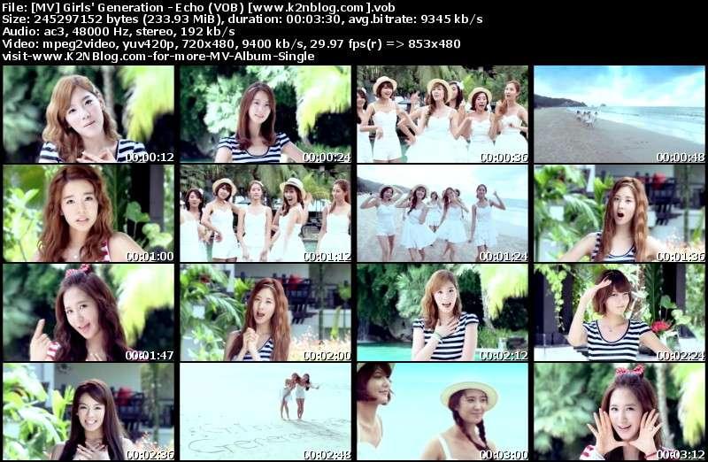 Girls' Generation - Echo (VOB) thumbnail
